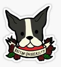 Boston University Terrier Sticker