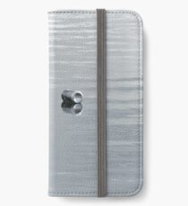 Silvery reflection. iPhone Wallet/Case/Skin