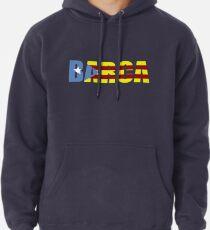 Sudadera con capucha Barça FC Barcelona Bandera de Cataluña Camisetas y  regalos de fútbol 85790c757ec
