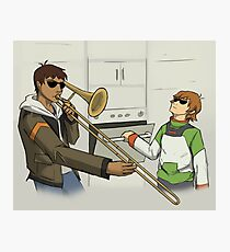 When Space Dad Isn't Home Photographic Print