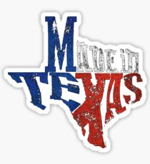 Made in Texas Outline Sticker