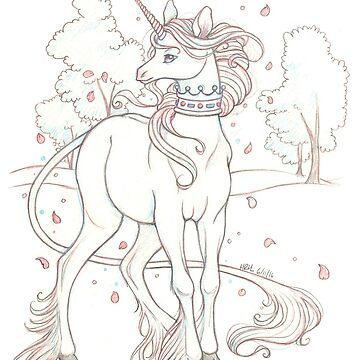 The Meadow Unicorn by helloheath