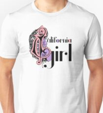 Cool Stylish Girly Fashion Cute California Girl Unisex T-Shirt