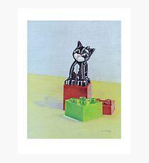 Duplo cat Photographic Print