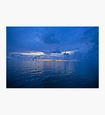 5 ★★★★★ . It's A Real Jewel 4 me ! Nightfall wonders  -  Baltic Sea. by Brown Sugar . 5 Star Excellence. Madame Valerie Anne Kelly ! Featured Inspired Art Group !  A belated thank you ! Photographic Print