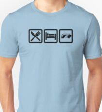 Eat / Sleep / R T-Shirt