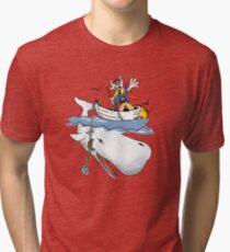 For the Oil, For Asgard! Tri-blend T-Shirt