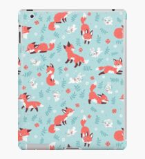 Fox and Bunny Pattern iPad Case/Skin