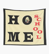I Love Home School Wall Tapestry