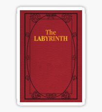 Labyrinth Book Cover Sticker