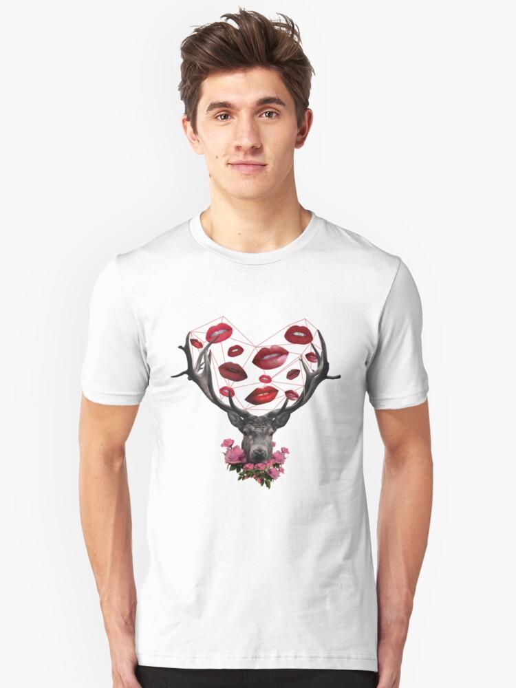 ST. VALENTHORNS Unisex T-Shirt Front
