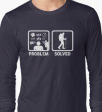 Camiseta de manga larga Problema de senderismo resuelto