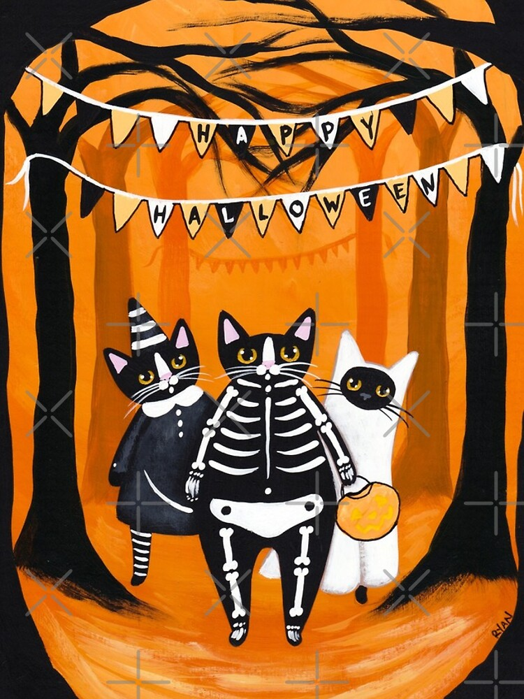 The Halloween Cats by kilkennycat