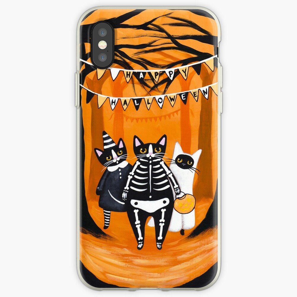 The Halloween Cats iPhone Case & Cover