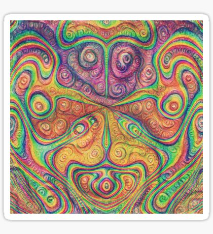 Alien deep dreams Sticker