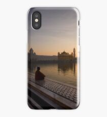Dawn at Golden Temple I iPhone Case/Skin