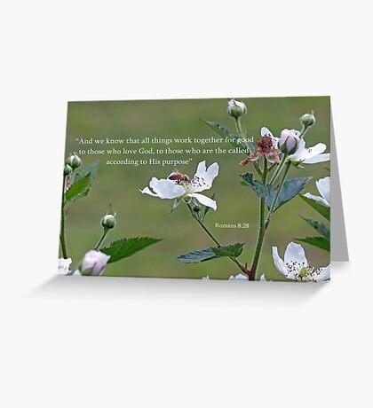 Inspirational Greeting Card Greeting Card