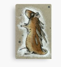 Feathered Rat Canvas Print