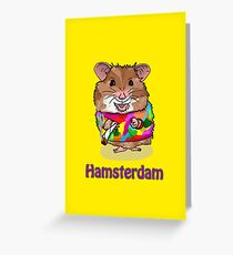Hamsterdam Greeting Card