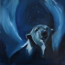Polar Bear Angel by Christine Montague
