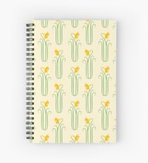 Pretty Yellow Spring Daffodils Spiral Notebook