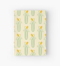 Pretty Yellow Spring Daffodils Hardcover Journal