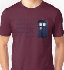 Doctor Who - Amy's Wedding Something Blue Unisex T-Shirt