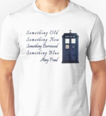 Doctor Who - Amy's Wedding Something Blue Unisex T-Shirt