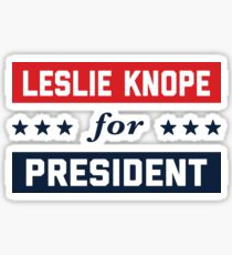 Leslie Knope For President 2016 Sticker