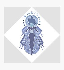 White Diamond SU Photographic Print