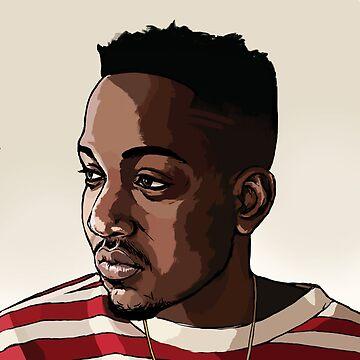Kendrick Lamar   2016   abstract art by WAGarmentSupply