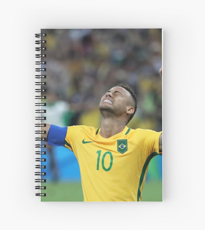 Neymar GOLD Olympics Rio 2016 (With Background)  von MemerMike