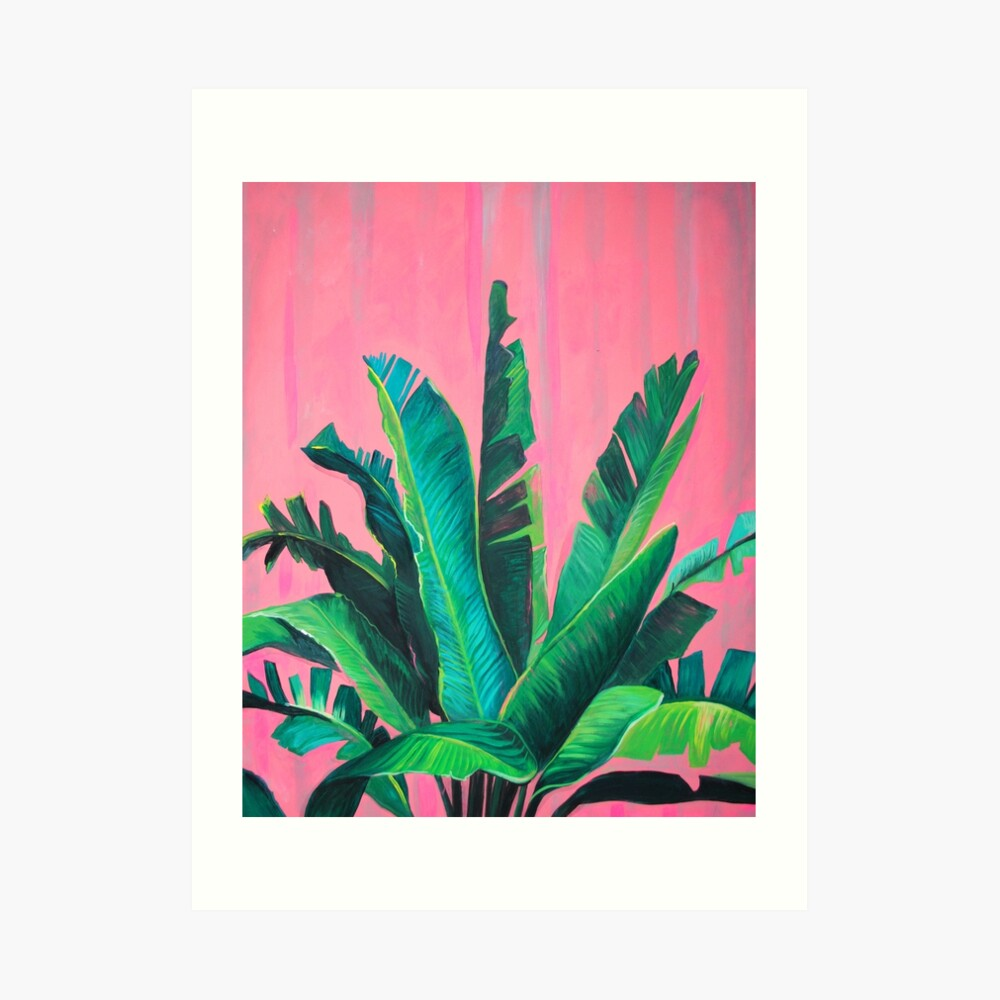 Tropical Love Art Print