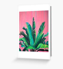 Tropical Love Greeting Card