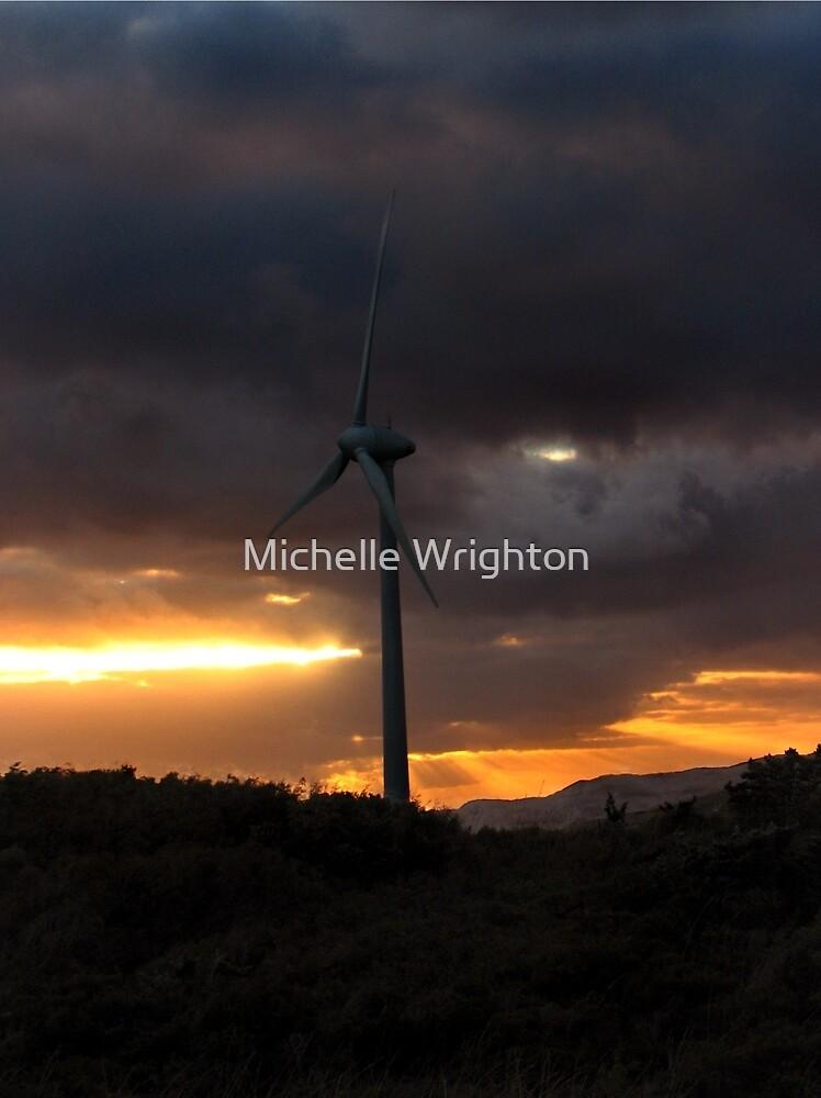 Elemental Power II - Wind Turbine by Michelle Wrighton