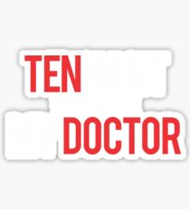 doctor how Sticker