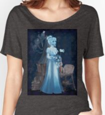 Black Widow Bride in the Attic Women's Relaxed Fit T-Shirt
