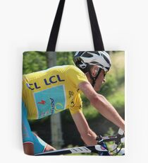 Vincenzo Nibali - Tour de France 2014 Tote Bag