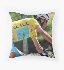 Vincenzo Nibali - Tour de France 2014 Throw Pillow
