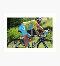 Vincenzo Nibali - Tour de France 2014 Art Print