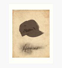 Lámina artística Eponine