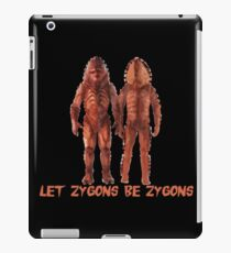 Let Zygons Be Zygons iPad Case/Skin