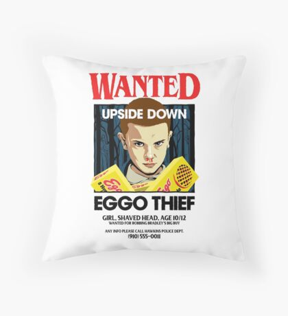 Stranger Wanted Throw Pillow