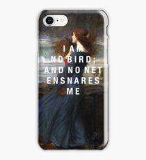 i am no bird iPhone Case/Skin