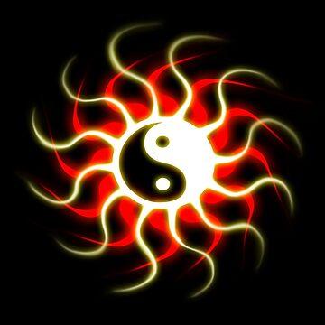 Yin Yang Sun by LeahMcNeir