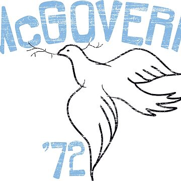 George McGovern Dove of Peace 1972 Presidential Campaign by retrocampaigns