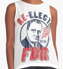 Franklin Delano Roosevelt for President 1936 Campaign Contrast Tank