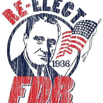 Franklin Delano Roosevelt for President 1936 Campaign by retrocampaigns