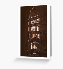 Bottle Texture Greeting Card