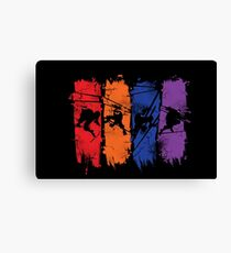 TEENAGE MUTANT NINJA TURTLES Canvas Print